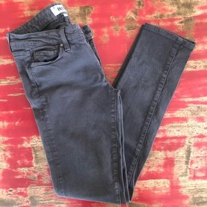 29/8 Paige Skyline Skinny Jean in Grey